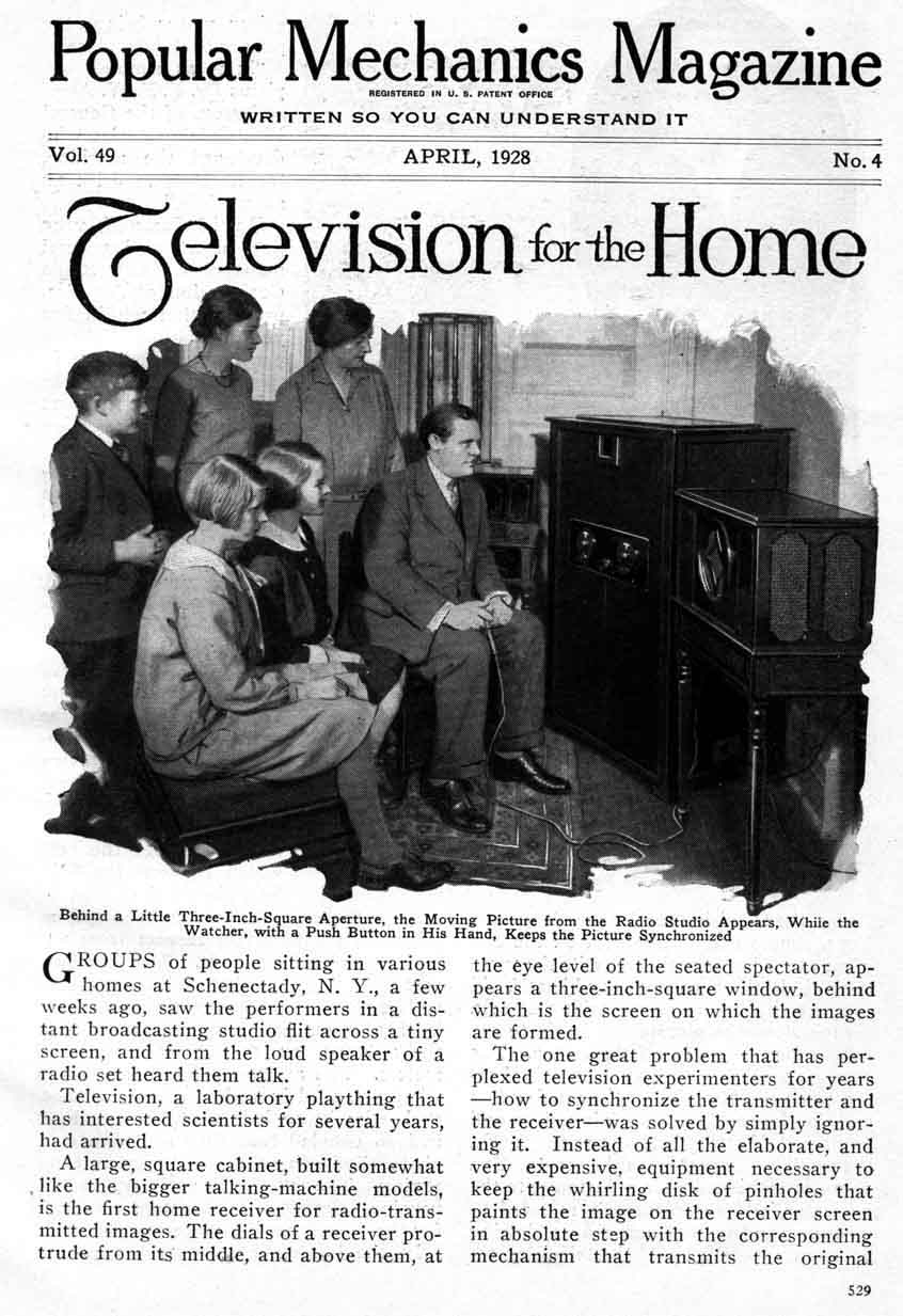 the history of radios and radio broadcasting since the 1920s