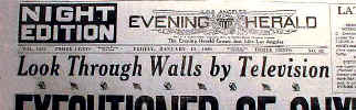 1928 Jan 13 LA Herald-TV Headline.JPG (41038 bytes)