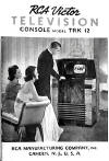 1939 RCA TRK-12 Owner's Manual  (36K bytes)
