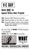 1945 April 20th (Mail Date) VE Day Announcement  (50K bytes)