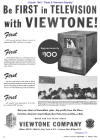 1945 Oct Viewtone Ad  (142K bytes)
