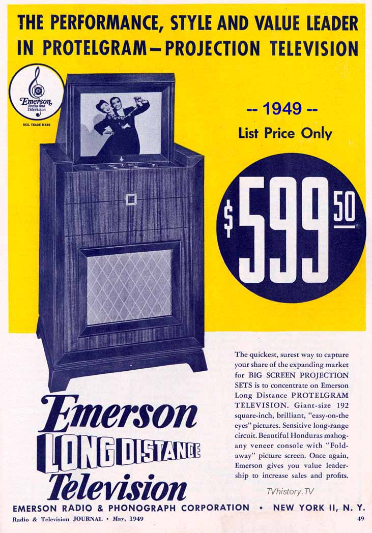 1940s Projection Television Page 2