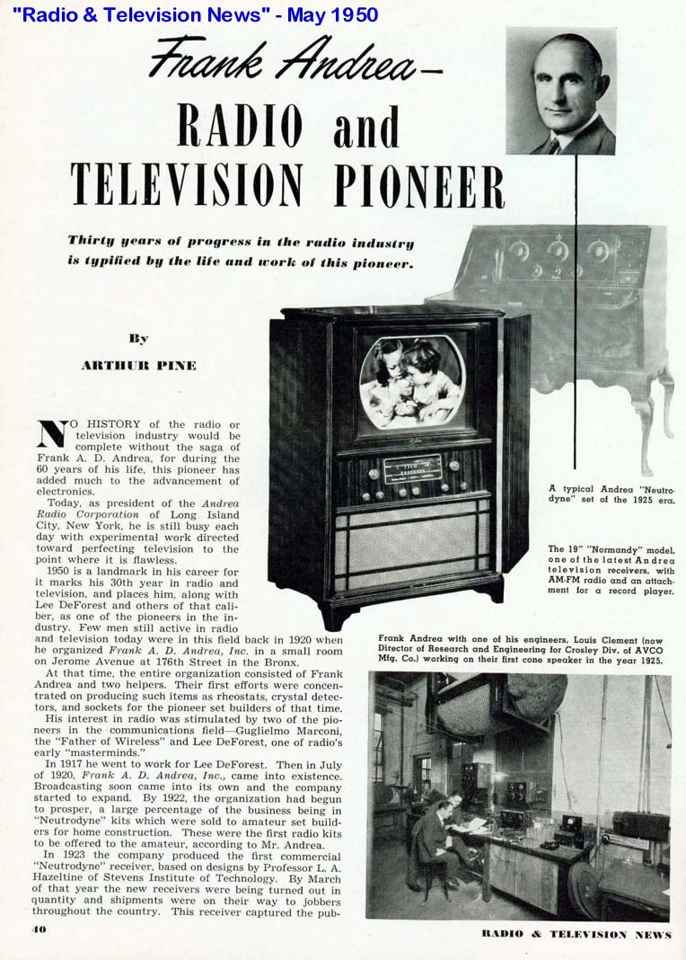 history of radio and tv Broadcasting - the history of radio, the history of television, the future of radio and television, cable television.