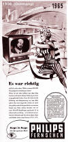 1956 Philips TV Ad (176K bytes)