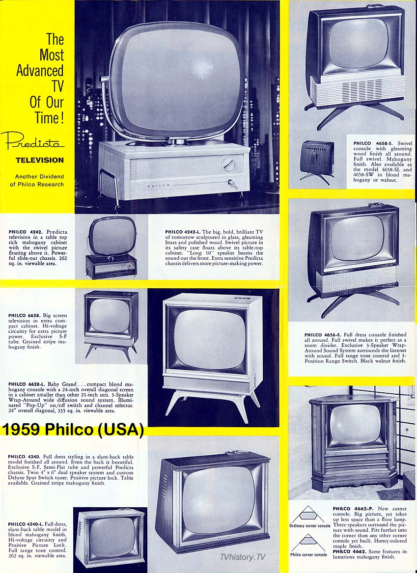 1959 Television Advertising
