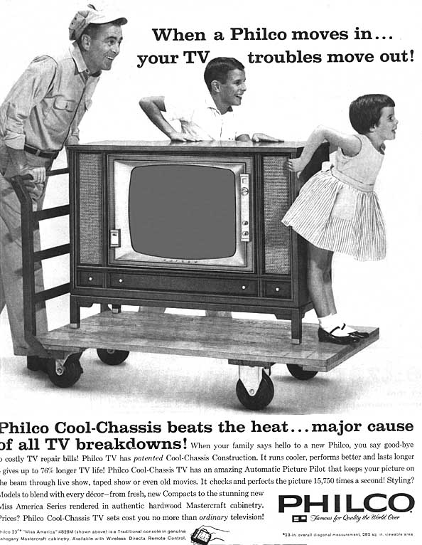1960 Philco Black & White