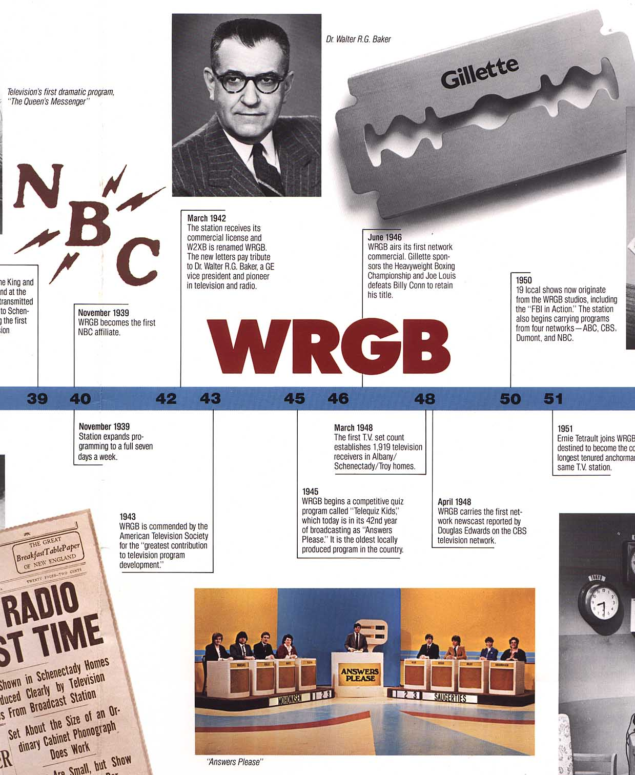 """WRGB -- GE's Station with many""""Firsts"""" (For America)"""