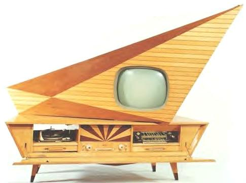 Image result for 1960s television set german