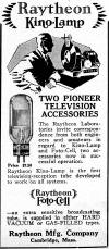 1928 Raytheon Advertisement (150K bytes)