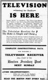 "Boston Sunday Post - ""TV is Here"" (111K bytes)"